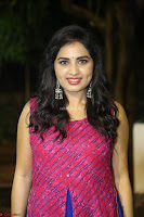 Srushti in beautiful Pink Sleeveless Dress Cute Actress Dimples ~  Exclusive 026.JPG