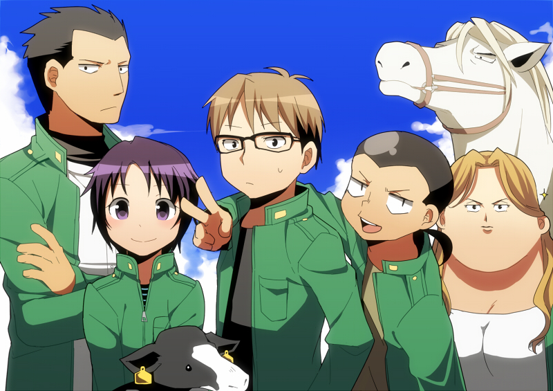 Anime  Gin no Saji 03 Subtitle Indonesia Animeindo