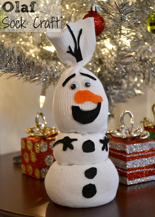 Olaf Craft, Frozen Craft, Sock Craft