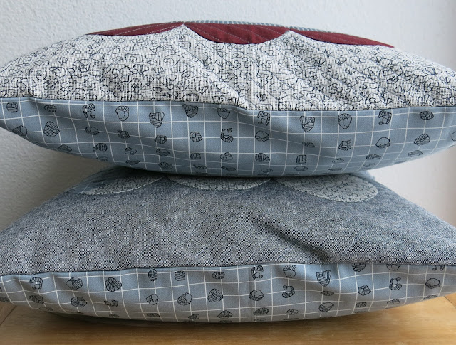 Luna Lovequilts - Quilted cushions / pillows - Backing