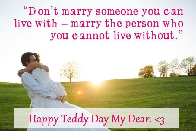 Teddy Day Wishes for Wife and Husband