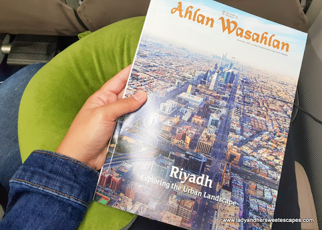 A glimpse of Riyadh in Saudia in-flight magazine