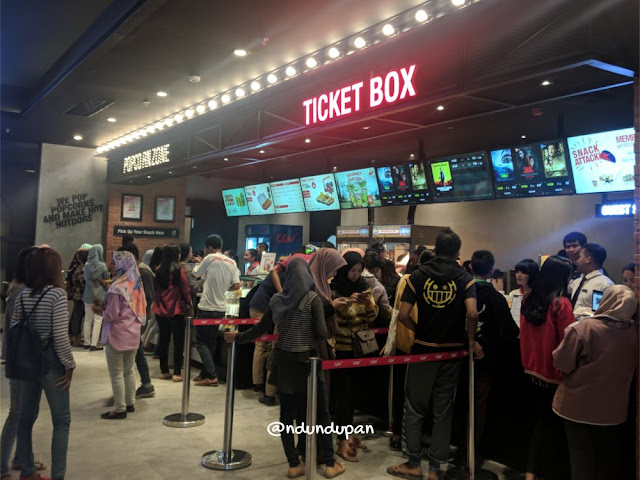 Ticket Box di Blitar Square Mall