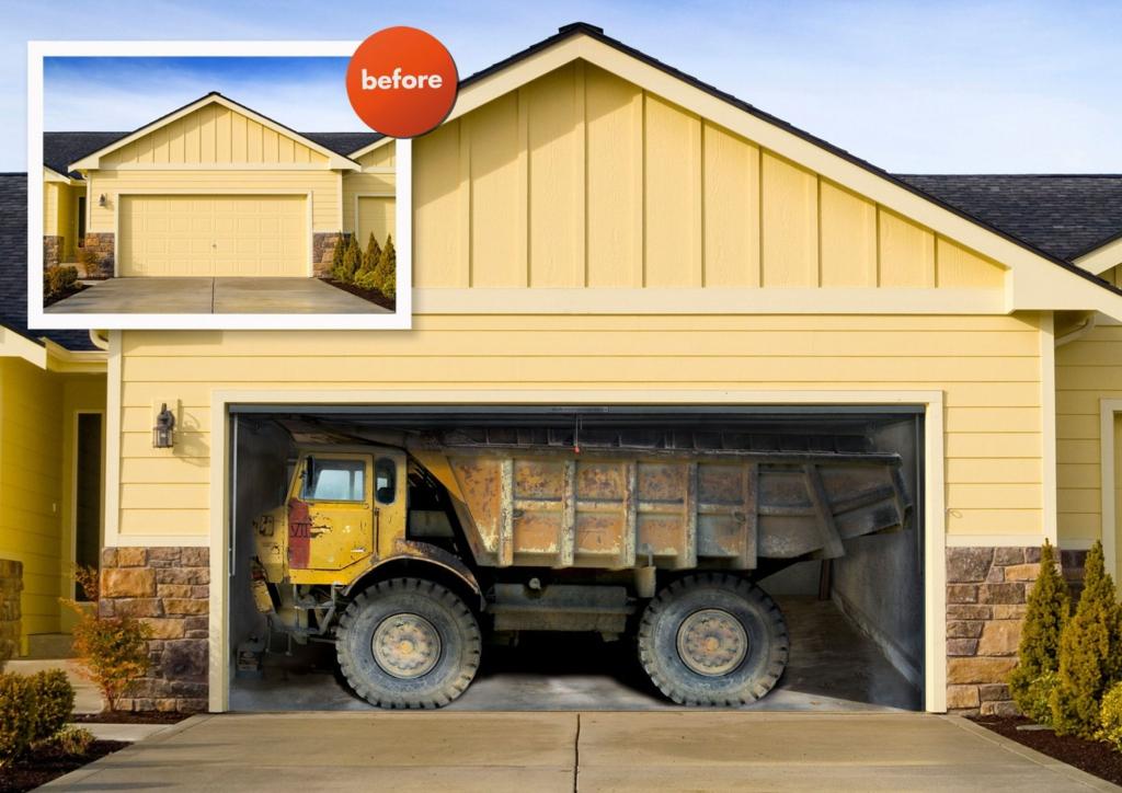 kate 39 s virtual garage coolest garage door ever. Black Bedroom Furniture Sets. Home Design Ideas