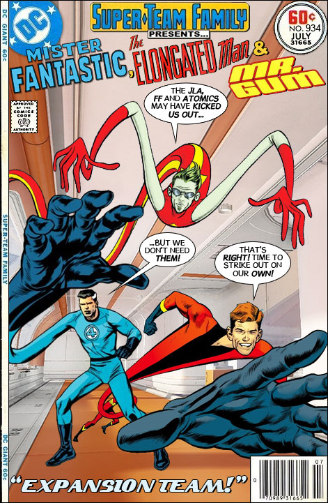 Super Team Family The Lost Issues Mister Fantastic The Elongated