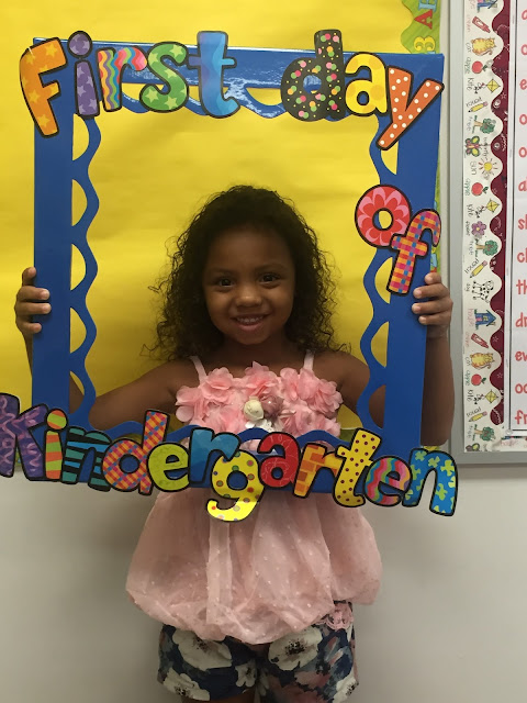 Ms  M 's KG Class: Our First Month of Kindergarten