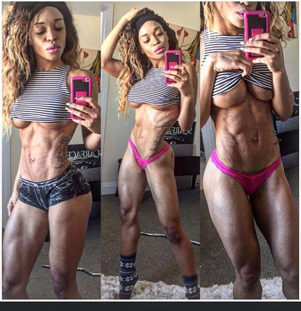 Fitness Model Lola Montez 2