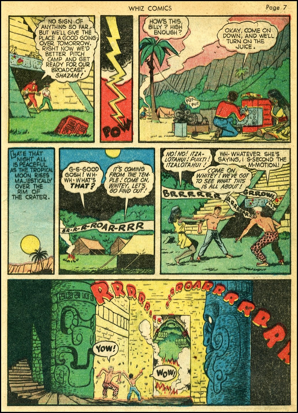 WHIZ Comics issue 22 - Page 9