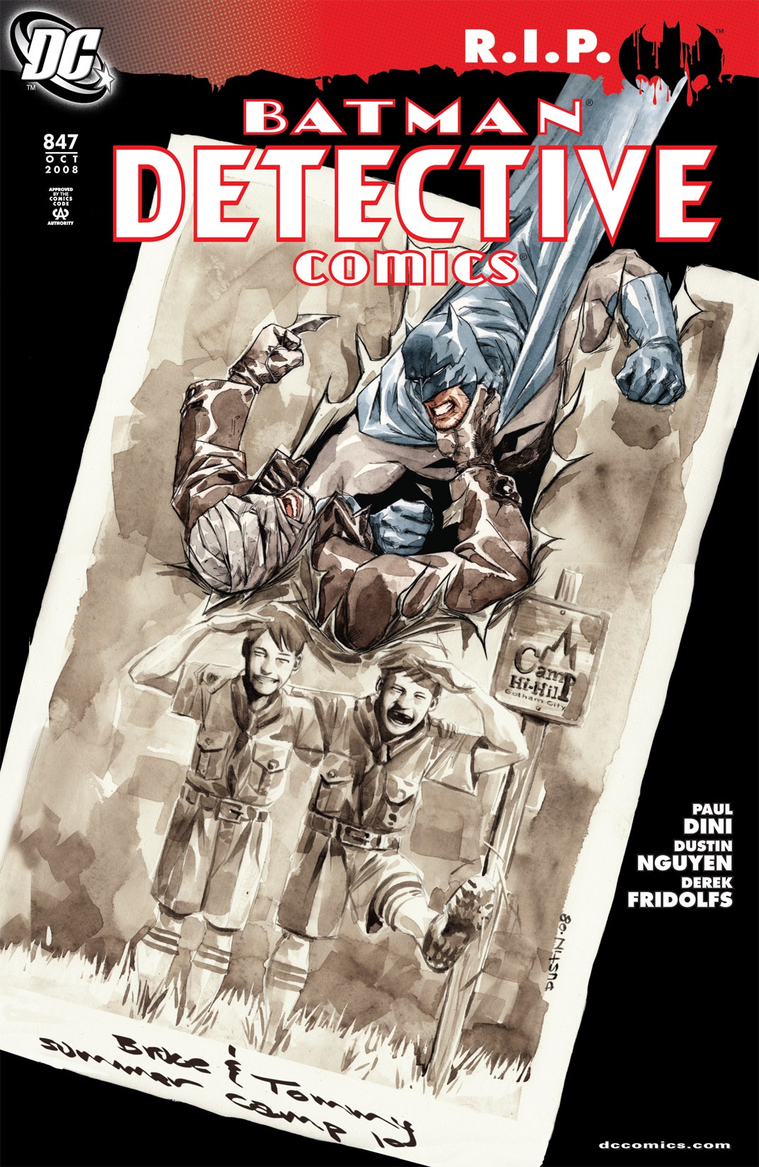 Detective Comics (1937) 847 Page 1