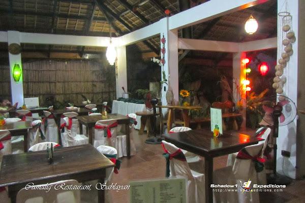 Camalig Restaurant, Sablayan - Schadow1 Expeditions