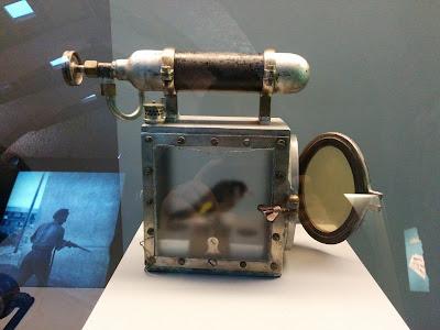 Jaula de recuperación de canarios (Museo de la siderurgia y la Minería de Castilla y León)