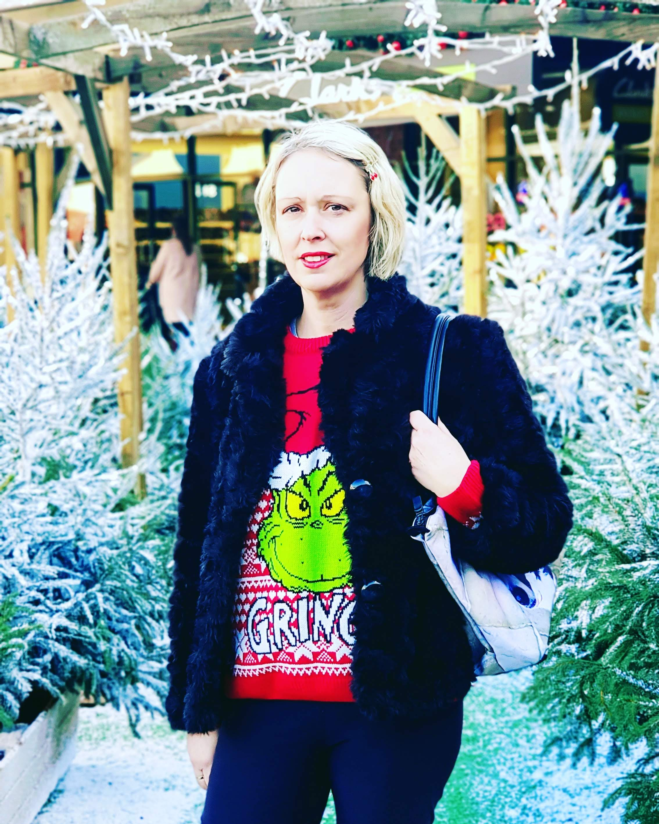 Saturday Style: Christmas Grinch Jumper