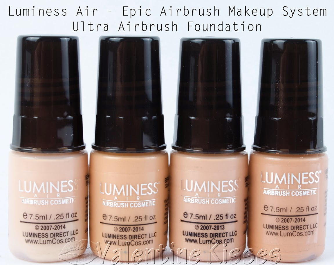 Luminess air airbrush makeup system