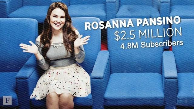 Los diez Youtubers más ricos del mundo por Forbes