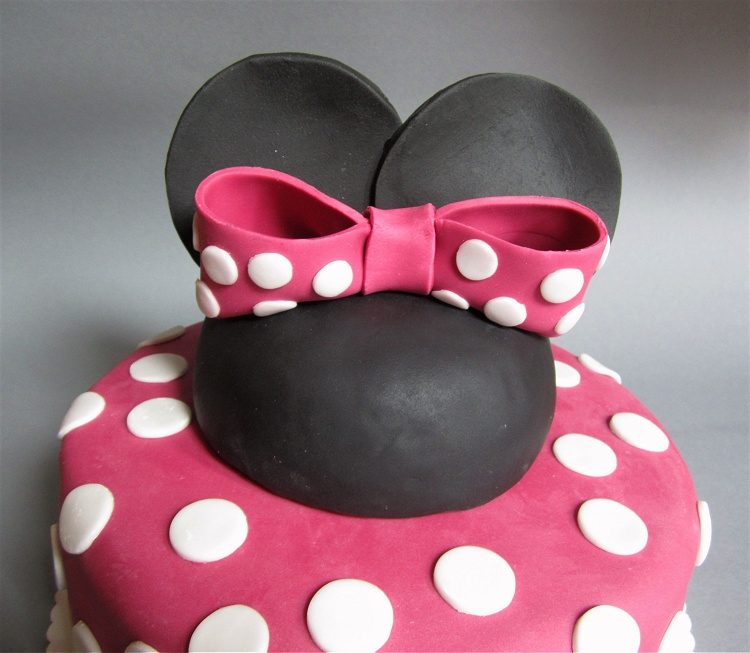 Minnie Mouse Torte 3