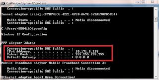 3 Cara cek ip address komputer dan android
