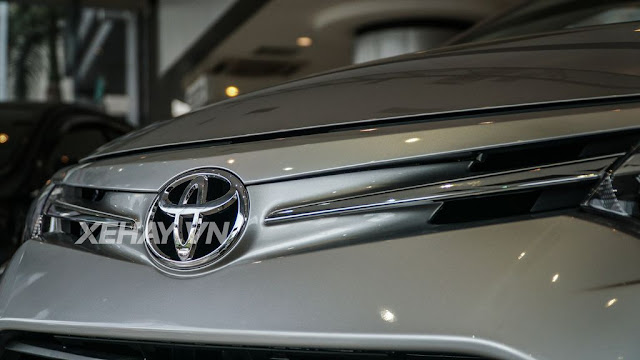 vios 15e cvt 4 - Cận cảnh Toyota Vios 1.5E CVT mới ra mắt Việt Nam