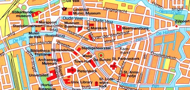 Mapa de Leiden