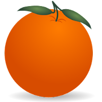orange fruit icons 1