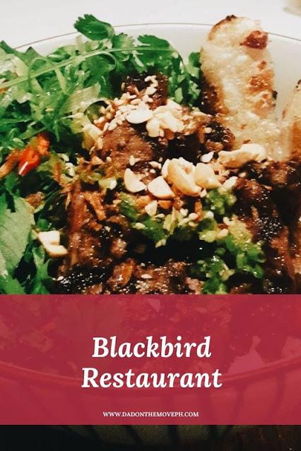Blackbird Restaurant review