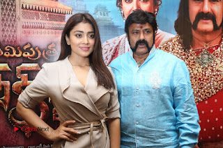 Shriya Saran Nandamuri Balakrishna at Gautamiputra Satakarni Team Press Meet Stills  0203.JPG