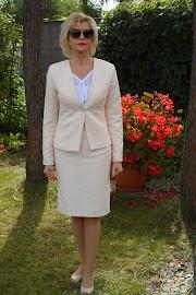 Kostium z żakardu :)