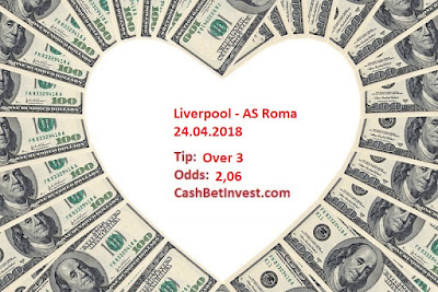 Liverpool - AS Roma 24.04.2018 - Cash Bet Invest