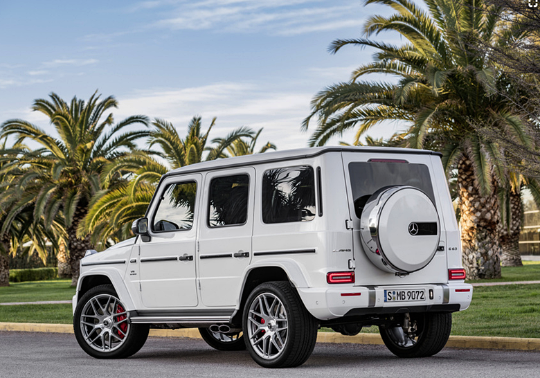 2019 Mercedes-AMG G63 White Review, Price, Interior, Specs