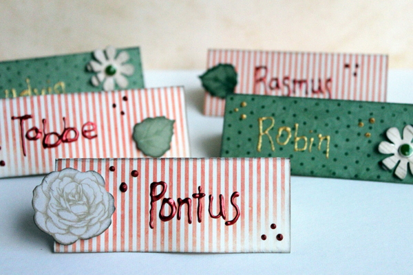 Pontus' Party Alter by Ulrika Wandler using BoBunny Felicity Collection