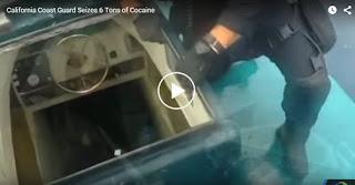 6 Τόνους Κοκαΐνης Κατάσχεσε από Αυτοσχέδιο Υποβρύχιο Σκάφος η Αμερικανική Ακτοφυλακή - Video