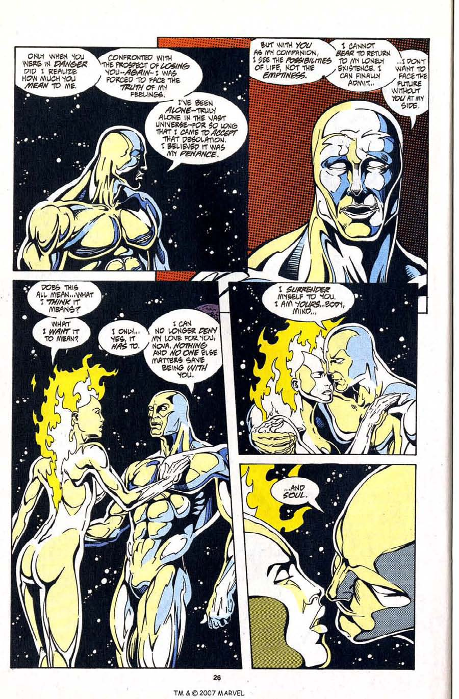 Read online Silver Surfer (1987) comic -  Issue #99 - 28