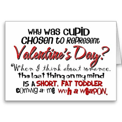 Why Was Cupid Chosen? - Funny Anti-Valentine's Day Card