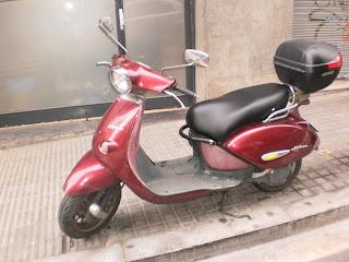 Tapizar asiento de scooter