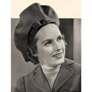 Beret Crochet Patterns is vintage 1930s