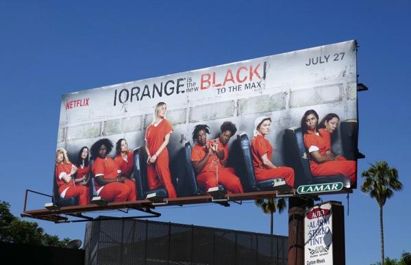 Orange is the New Black season 6 billboard
