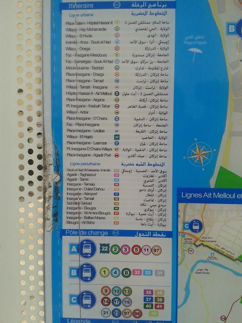 Lignes périurbaines Alsa Agadir