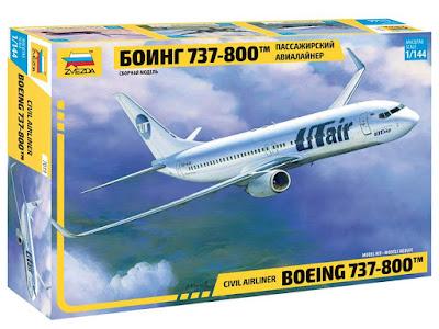 Boeing 737-800 by Zvezda
