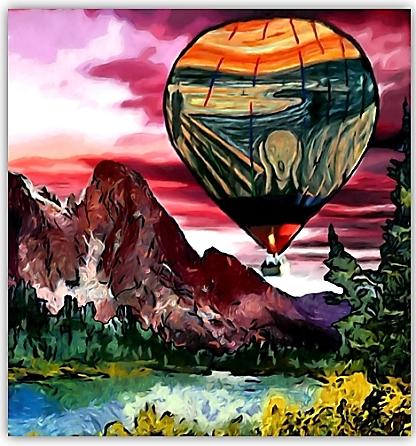 En globus (Toni Arencón Arias)