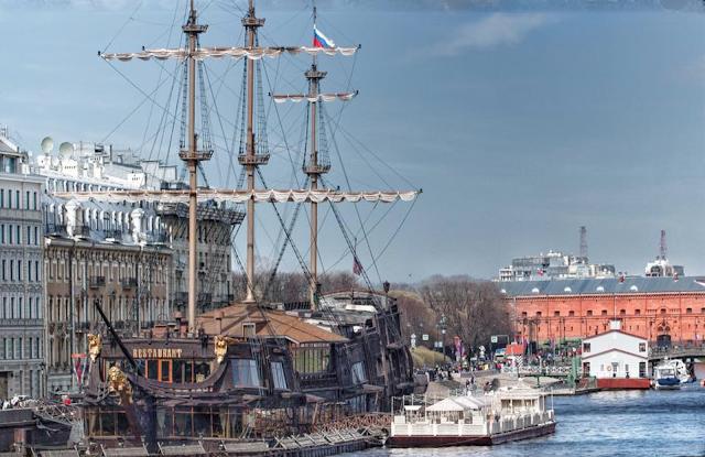 Парусник фото Санкт-Петербург