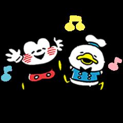 Disney Mickey & Friends by Kanahei
