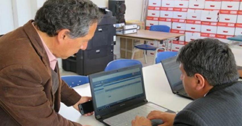 COAR de Cajamarca inaugura plataforma académica - www.minedu.gob.pe
