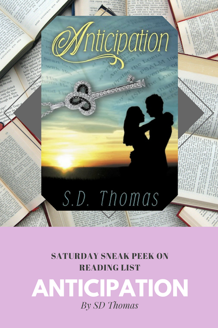 Anticipation by SD Thomas a Sneak Peek on Reading List