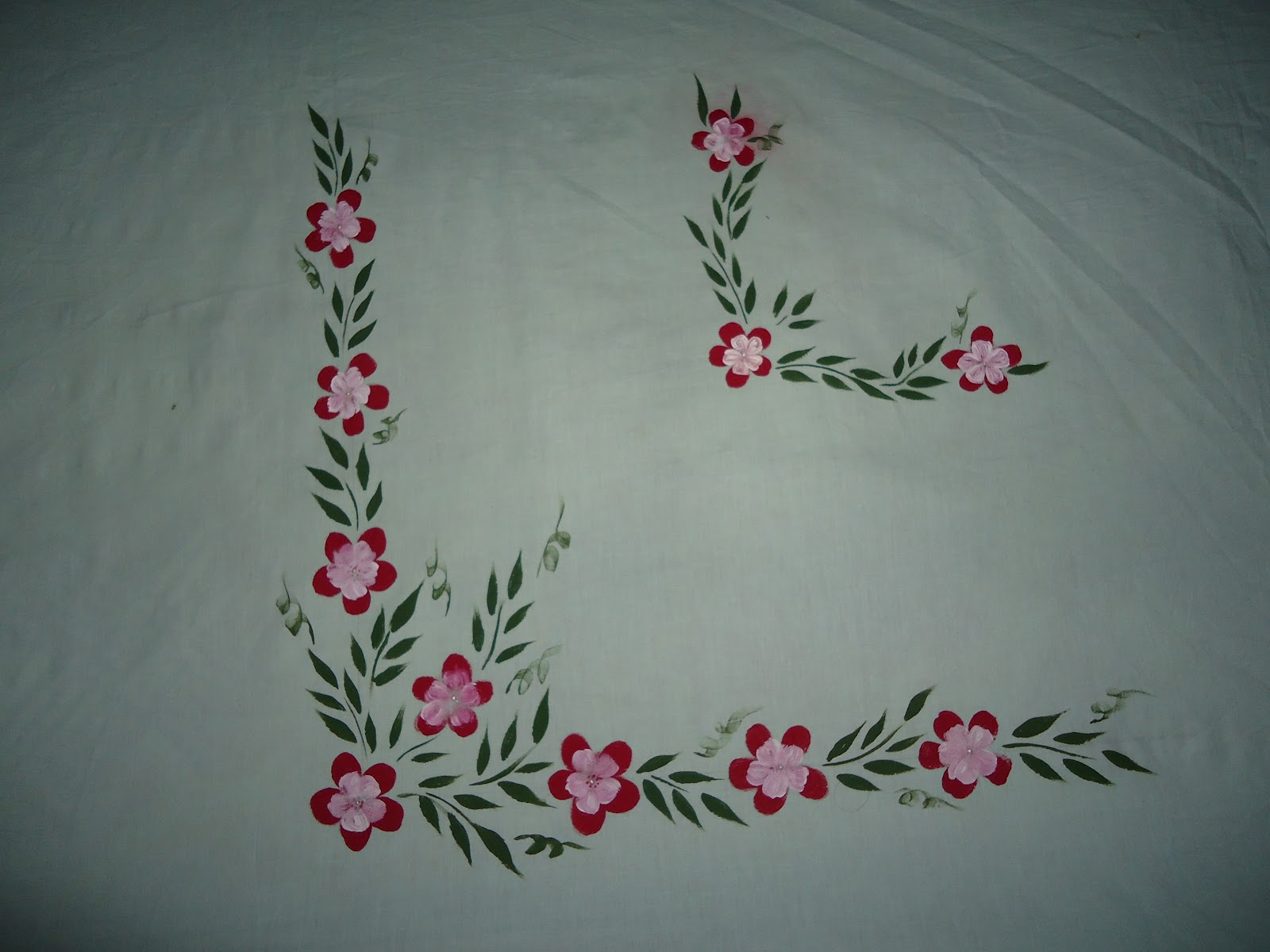 Fabric painting on clothes Fabric painting design. - YouTube |Fabric Paint