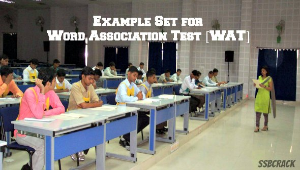 Example Set for Word Association Test WAT