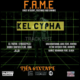 Mixtape Premiere: Kel Cypha - F.A.M.E (First Attempt, Mistakes and Errors)