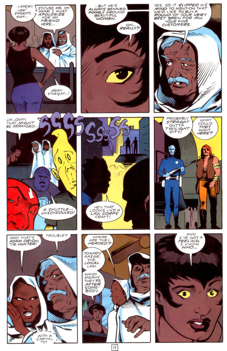 Legion of Super-Heroes (1989) 33 Page 12