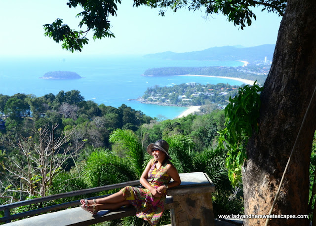 Lady in Karon Viewpoint