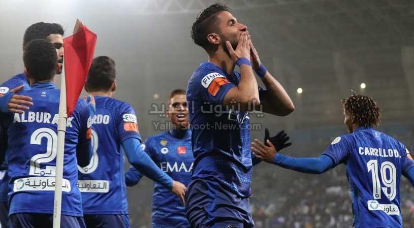 الهلال يحقق انتصار صعب على نادي الفيحاء بهدف وحيد في الدوري السعودي