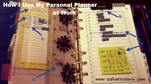 planner, paper, projects