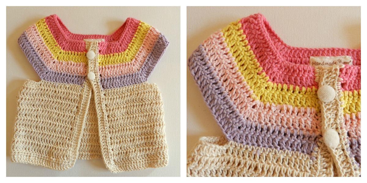 Como tejer chaleco a crochet para niña Imagui 5b6d68adba60